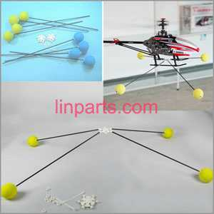 Training ball(Training Kit Protect Big RC Helicopters)