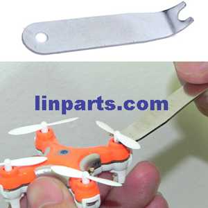 Cheerson CX-10D Smart Q Mini RC Quadcopter Spare Parts: U wrench for take off the Main blades