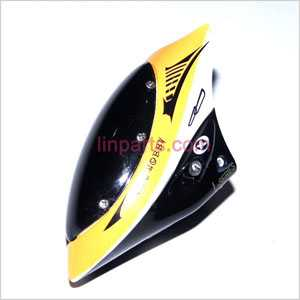 YD-9808 NO.9808 Spare Parts: Head cover\Canopy(Yellow)