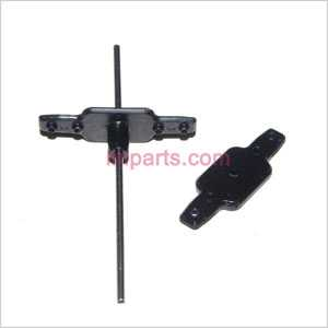YD-9808 NO.9808 Spare Parts: Bottom fan clip + Hollow pipe