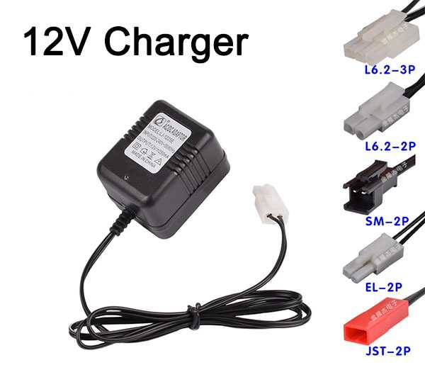 12V Charger 250mA [A variety of interface options]