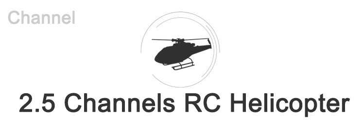 2.5 Channels RC Helicopter