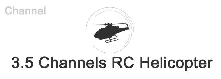 3.5 Channels RC Helicopter