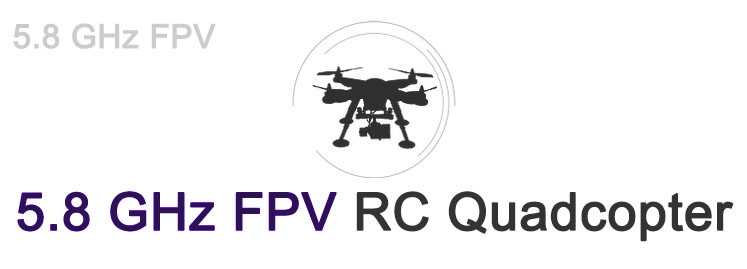 5.8 GHz FPV RC Quadcopter