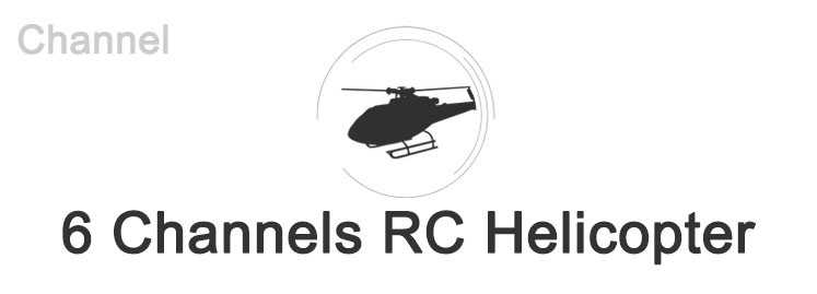 6 Channels RC Helicopter