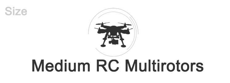 Medium RC Multirotors
