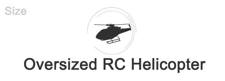Oversized RC Helicopter