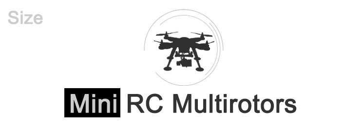 Mini RC Multirotors