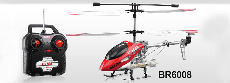 BR6008 V-MAX 3.5CH RC helicopter