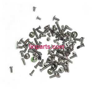 BO RONG BR6508 Helicopter Spare Parts: screws pack set