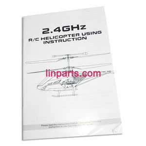 BO RONG BR6508 Helicopter Spare Parts: English manual book