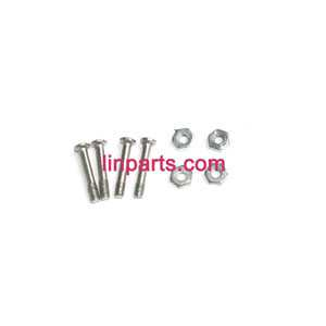 BO RONG BR6508 Helicopter Spare Parts: Fixed screws set of the Main blades