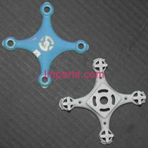 Cheerson CX-10 Mini 2.4G Spare Parts: Upper Head cover+ Lower board(blue)