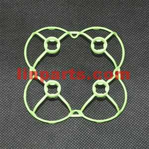 Cheerson CX-10DS Mini RC Quadcopter Spare Parts: protection frame[green]