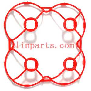 Cheerson CX-10DS Mini RC Quadcopter Spare Parts: protection frame(Red)