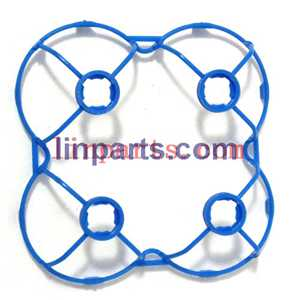 Cheerson CX-10A Headless Mode 2.4G RC Quadcopter Spare Parts: protection frame(Blue)