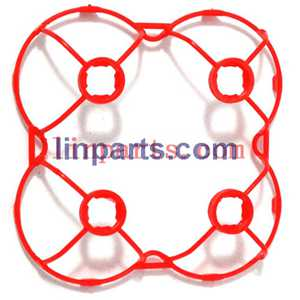 Cheerson CX-10A Headless Mode 2.4G RC Quadcopter Spare Parts: protection frame(Red)