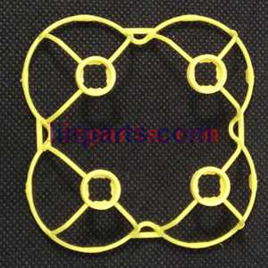 Cheerson CX-10A Headless Mode 2.4G RC Quadcopter Spare Parts: protection frame(Yellow)