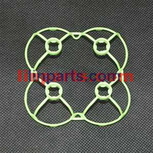 Cheerson CX-10A Headless Mode 2.4G RC Quadcopter Spare Parts: protection frame[green]