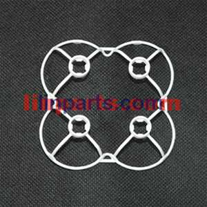 Cheerson CX-10A Headless Mode 2.4G RC Quadcopter Spare Parts: protection frame[white]