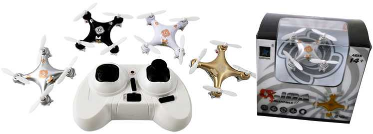 Cheerson CX-10A UFO RC Quadcopter