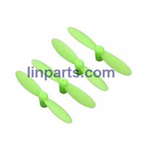 CX-10W-TX RC Quadcopter Spare Parts: Main blades set[Green]