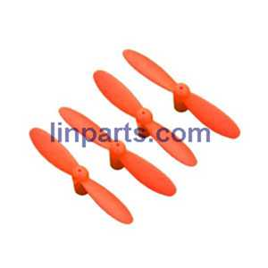 CX-10W-TX RC Quadcopter Spare Parts: Main blades set[Red]