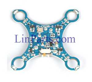 Cheerson CX-10SE MINI RC Quadcopter Spare Parts: PCB of Receiver