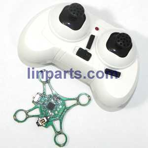 Cheerson CX-12 Mini Fighter 2.4G RC Quadcopter Spare Parts: Remote Control\Transmitter+PCB\Controller Equipement