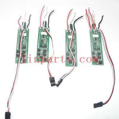 Cheerson CX-20 quadcopter Spare Parts:【Red light+Green light】ESC set