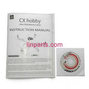 Cheerson CX-20 quadcopter Spare Parts: English manual [Dropdown](KY version)