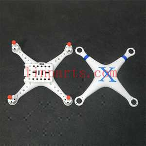 Cheerson CX-30 CX-30C CX-30W CX-30W-TW CX-30S RC Quadcopter Spare Parts: Upper Head set+Lower boar[Blue]