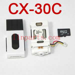 Cheerson CX-30 CX-30C CX-30W CX-30W-TW CX-30S RC Quadcopter Spare Parts: Camera set + TF card [CX-30C]