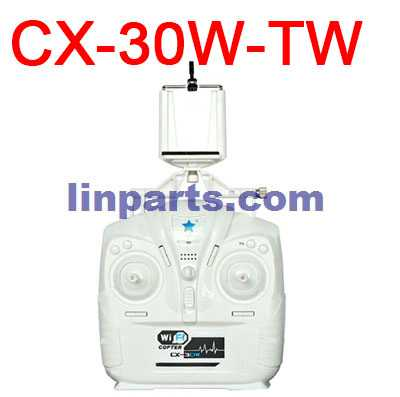 Cheerson CX-30 CX-30C CX-30W CX-30W-TW CX-30S RC Quadcopter Spare Parts: Remote Control/Transmitte + Mobile phone holder[CX-30W-TW]