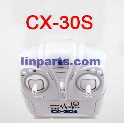 Cheerson CX-30 CX-30C CX-30W CX-30W-TW CX-30S RC Quadcopter Spare Parts: Remote Control/Transmitte[CX-30S]