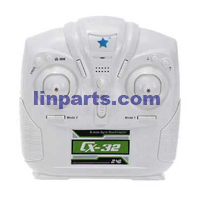 Cheerson CX-32 RC Quadcopter Spare Parts: Remote Control/Transmitte CX-32[White]