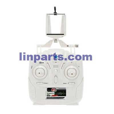 Cheerson CX-32W RC Quadcopter Spare Parts: Remote Control/Transmitte + Mobile phone holder CX-32W[White]