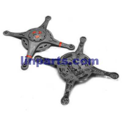 Cheerson CX-32 CX-32C CX-32W CX-32S RC Quadcopter Spare Parts: Upper Head set+Lower boar[Black]