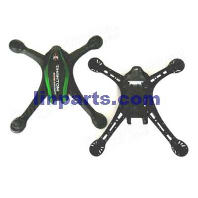 Cheerson CX-35 RC Quadcopter Spare Parts: Body shell cover set [black + green]