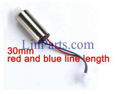 Cheerson CX-36 CX36A CX36B CX36C RC Quadcopter Spare Parts: Clockwise motor 30mm red and blue line length