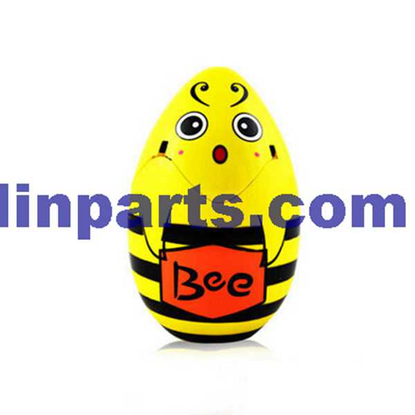 Cheerson 6057 Cute Flying Egg Spare Parts: Egg Shells [Black-White]