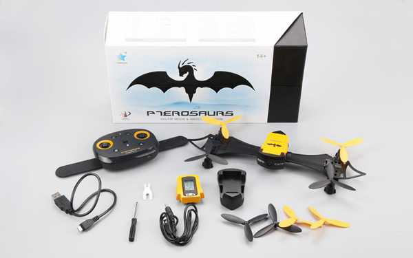 Cheerson CX-70 CX70 BAT DRONE WiFi FPV With Wearable Wrist Watch Altitude Hold RC Quadcopter