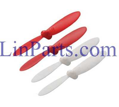 Cheerson CX-OF RC Quadcopter and Spare Parts: Blades (Red/White)