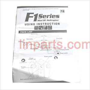 DFD F101/F101A/F101B Spare Parts: English manual book