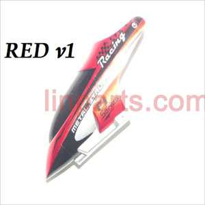 DFD F101/F101A/F101B Spare Parts: Head cover\Canopy(old red)