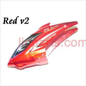 DFD F101/F101A/F101B Spare Parts: Head cover\Canopy(new red)
