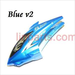 DFD F101/F101A/F101B Spare Parts: Head cover\Canopy(new blud)