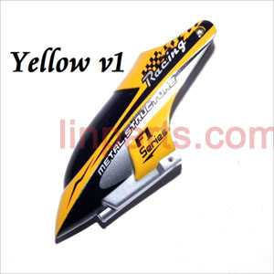 DFD F101/F101A/F101B Spare Parts: Head cover\Canopy(old yellow)