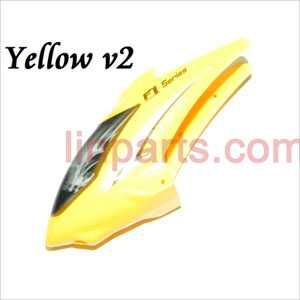 DFD F101/F101A/F101B Spare Parts: Head cover\Canopy(new yellow)