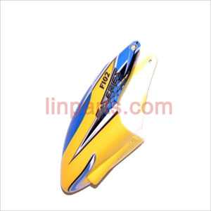 DFD F102 Spare Parts: Head cover\Canopy(yellow)